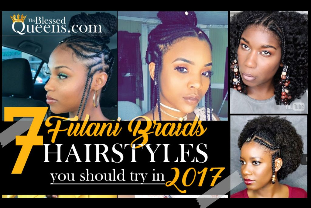 Fulani hairstyles! 7 Amazing Fulani braids Styles - The Blessed Queens