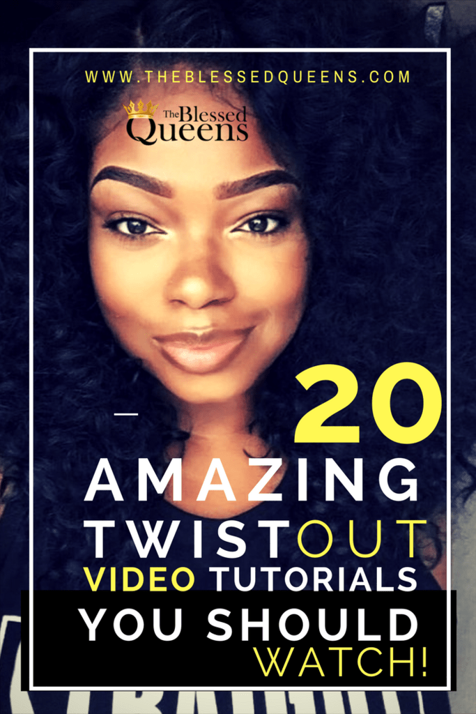 20 Amazing twist out on dry hair Tutorials