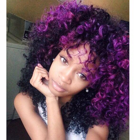 12 Explosive Hair Dye Ideas For Your Next Natural Hair Style The