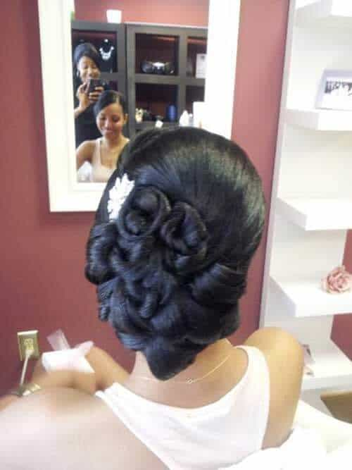 14 Classy African American Hairstyles for Weddings