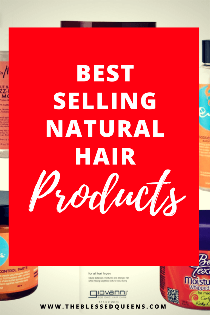 Amazon's Best Selling natural hair products