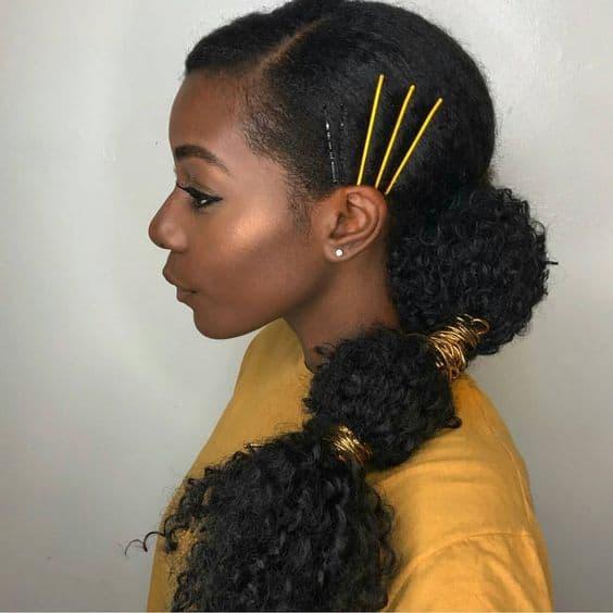 Diy 10 Drawstring Ponytail For Natural Hair