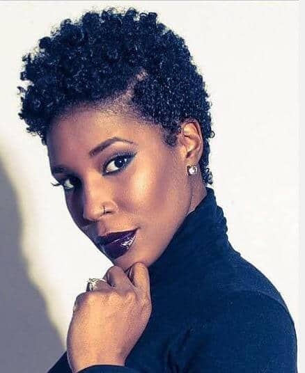 19 Stunning Quick Hairstyles for Short Natural African American Hair ...