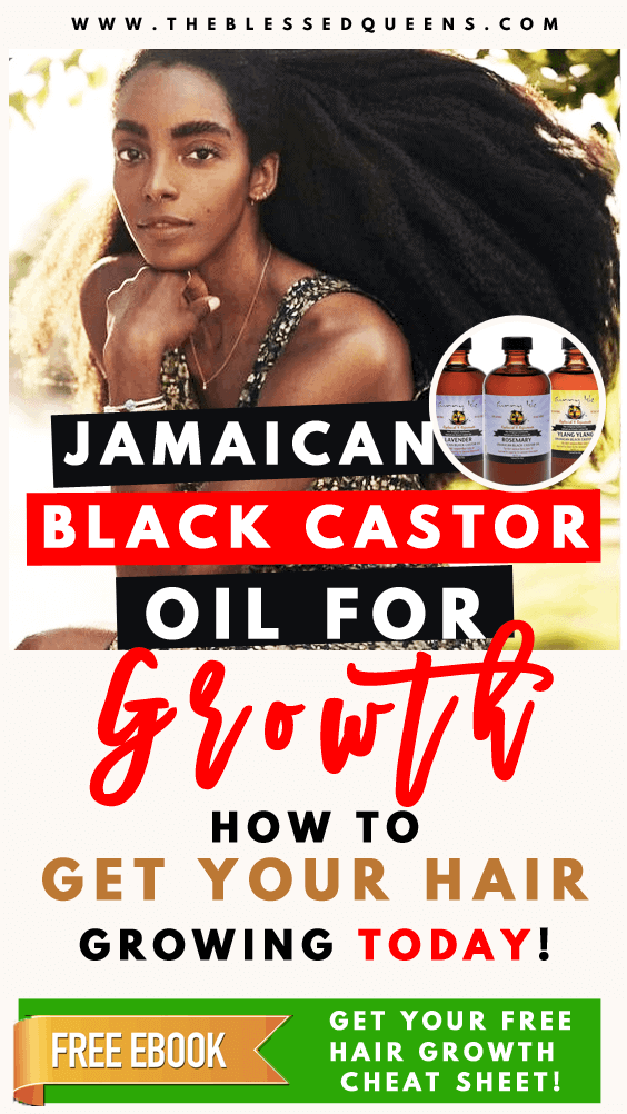 Jamaican Black Castor Oil Benefits For Hair Growth | All You Need To Know!