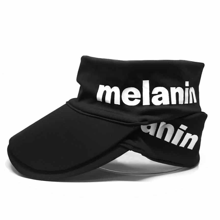 melanin hair care naptural85 Stretch Visor