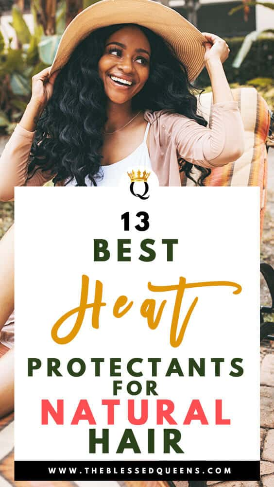 13 Best Heat Protectant For Natural Hair