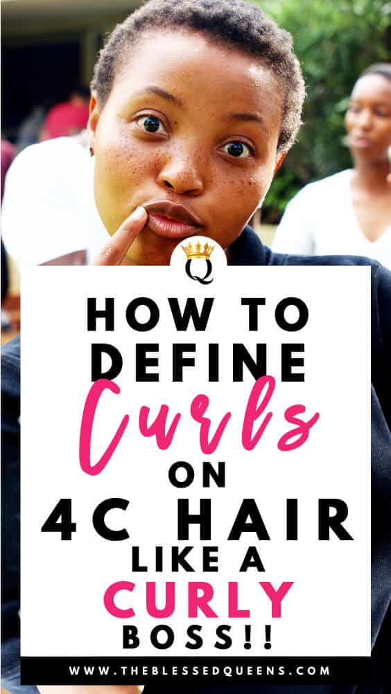 How To Define Curls On 4c Hair Like A Curly Boss!