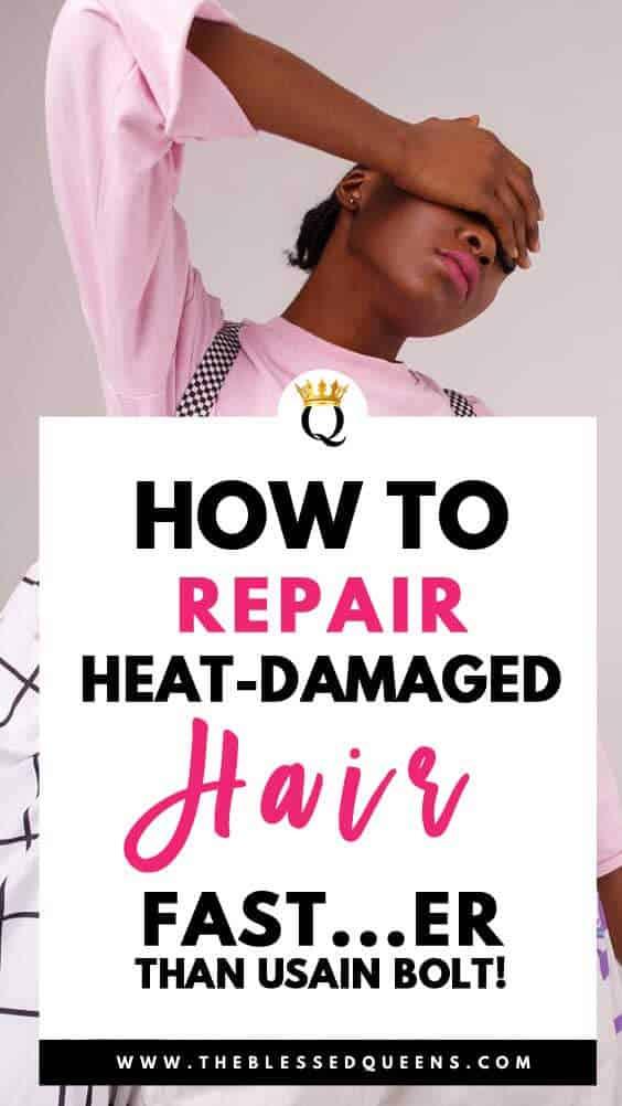 How To Repair Heat Damaged Hair Fast...Er Than Usain Bolt!