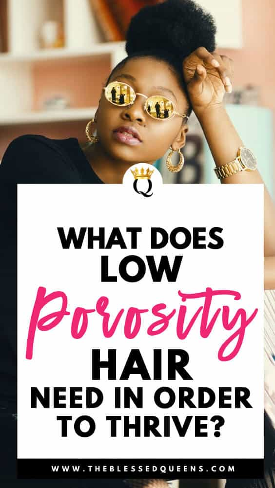 What Does Low Porosity Hair Need In Order To Thrive?