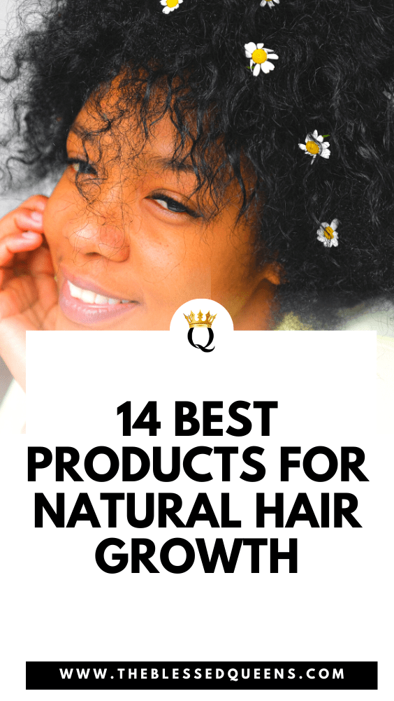 14 Best Products For Natural Hair Growth