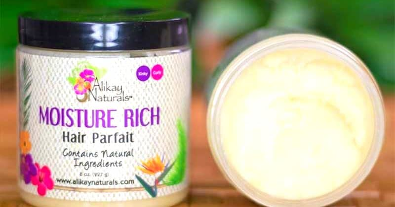 How To Use Alikay Naturals Moisture Rich Parfait On Natural Hair!