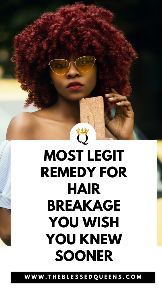 Most Legit Remedy For Hair Breakage You Wish You Knew Sooner