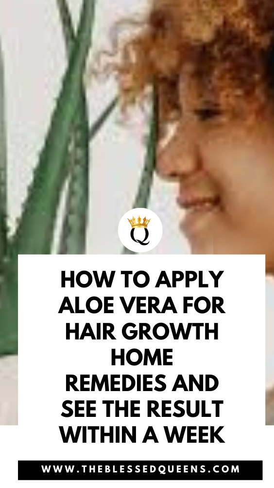 How To Apply Aloe Vera For Hair Growth Home Remedies And See The Result Within A Week